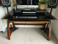 Jual Retro Computer Desk & Buro Swivel Office Chair