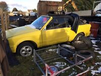 Ford Escort Mk3 Xr3i Convertible Cabriolet rs turbo
