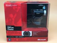 Microsoft LifeCam Cinema Webcam - Black/Silver