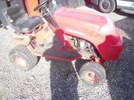 briggs and stratton ride on mower