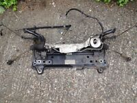 Ford Fiesta ST (02-08) FRONT SUBFRAME POWER STEERING RACK (Breaking Spares) 5S6Y 5W019 BJ mk6 mk7