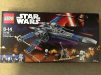 Lego 75149 - Star Wars Resistance X-Wing Fighter - Brand New in the Box and Sealed