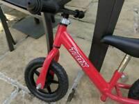 Toddlers balance bike