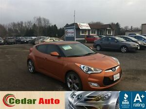 2012 Hyundai Veloster Tech Package.