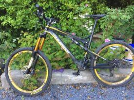 Nukeproof Mega TR Full Suspension Mountain Bike- Large