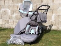 Silver cross travel system very good condition, footmuff, rain cover change bag sun canopy included