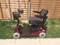 Preowned 'pride' Revo 4mph Mobility Scooter, Good Condition £400 ovno