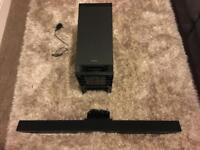Sony soundbar and subwoofer