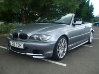 2004 Bmw 330ci M Sport Convertible Automatic, Lovely Condition Ready For Summer New Mot Full History