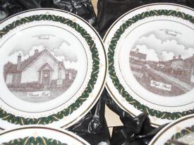Limited Edition Fovant Ceramic Plates