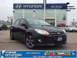 2014 Ford Focus SE|HEATED SEATS|KEYLESS ENTRY|BLUETOOTH|