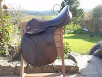 "Saddle for sale - Jeffries 17"" MW GP"