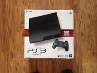 Sony PlayStation 3 160 GB Slim + 11 Games