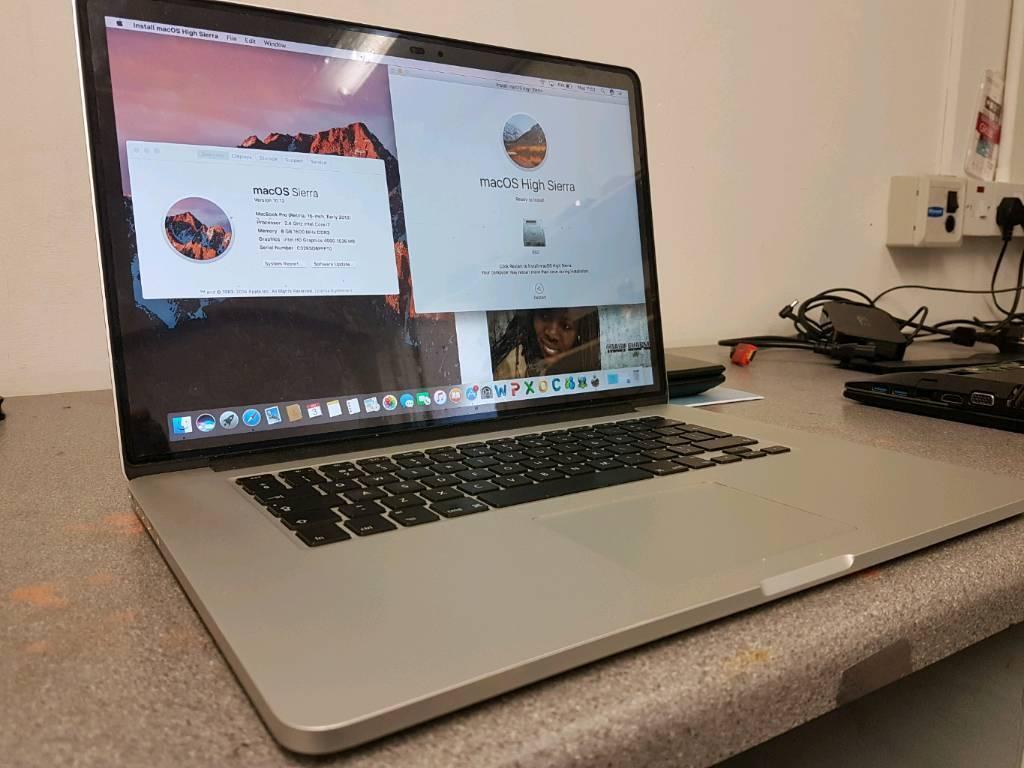 """Macbook 15"""" i7 retina"""