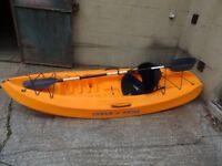 ocean frenzy kayak sit on