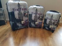 Travel one lightweight hardshell suitcase x 3
