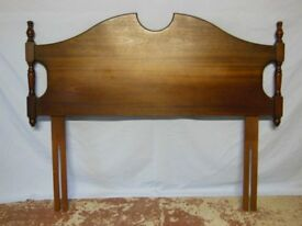 Headboard for Double Bed by Rossmore in Mahogany Finish
