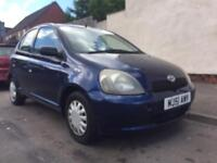 Toyota Yaris 1.0 2001 - 5 door - drives good - bargain £395 - not Micra corsa Clio focus 206
