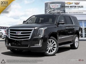 2018 Cadillac Escalade Luxury $292 Weekly + HST 72 Months @ 0...