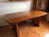 ***gone pending collection. Large table and chairs