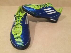 f56a603de Boys Size 4 Adidas F5 Court Indoor Soccer Cleats
