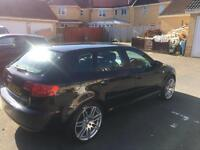 Audi A3 2.0t tfsi sport automatic dsg full service history, cambelt done 500 miles ago