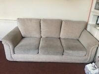 free to good home. 3 seater sofa