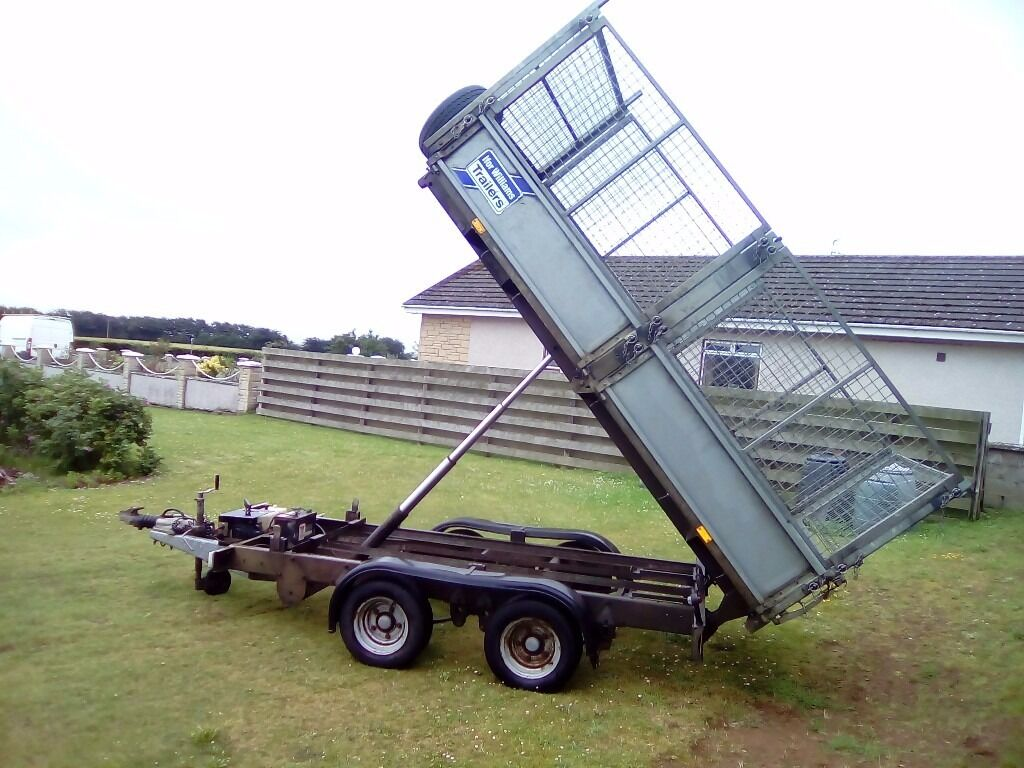 2011 Ifor Williams Tt105 Tipper Trailer Caged And In First Class Wiring Diagram Condition