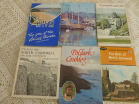 Poldark and walking guides for Cornwall