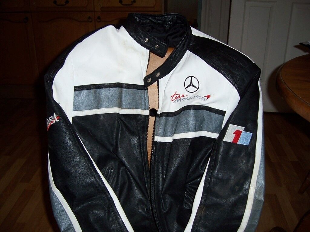 mercedes benz west leather jacket (mclaren). | in grantham