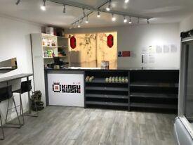 Japanese sushi takeaway cafe in west drayton for sale, near heathrow, brunel uni and Uxbridge town