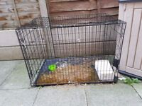 XL 42'' Dog Crate & M 30'' Dog crate. Price for both