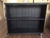 free black bookcase