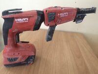 Hilti screw gun drill for sale!!