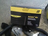 esab Aristo Air Power Unit System to go with welding helmet brand new boxed