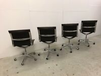 4 x Original ICF Spa 20060 Vignate chairs