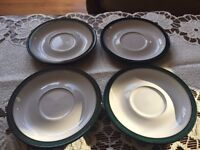 DENBY Greenwich saucers ( for tea coffee set )