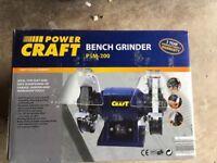 FOR SALE: Power Craft Bench Grinder PSM-200