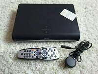 Sky HD Box With Remote And Power Cable