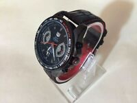 New Swiss Tag Heuer Grand Carrera Calibre 17 Automatic Watch, Leather Strap