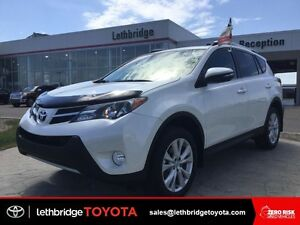 Toyota Certified 2015 Toyota Rav4 Limited - WINTER TIRES!