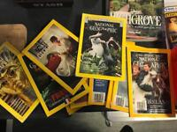 National Geographic Magazines + Royal Family pullouts