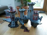 Playmobil Knights & Great Dragon Castle with extras