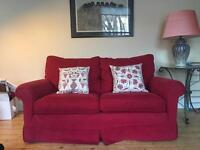 Large Comfy Two Seater Sofa