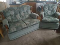 For Sale Settee & 1 Chair