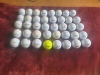 Second hand golf balls
