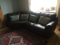 "Luxury Leather Sofa For SALE (Bargain price) ""PRICED TO GO"""