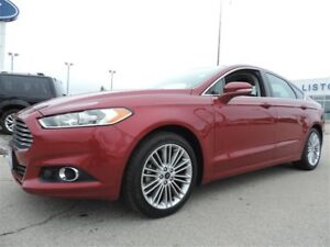 2014 Ford Fusion SE FWD Leather|Moonroof|Navigation!