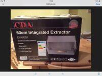 CDA Cooker Hood integrated brand new still boxed