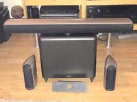 Audica cs speakers and sub